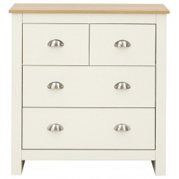 Lancaster 2 2 Drawer Chest Bedroom Furniture Cream