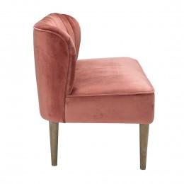 Bella 2 Seater Sofa Vintage Pink