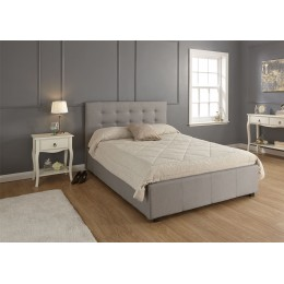 Regal 4FT6 Double 135cm Ottoman Bed Bedframe Grey