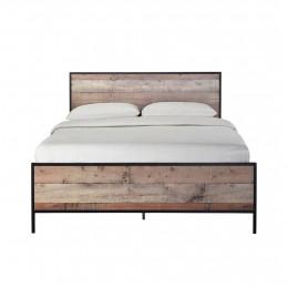 Hoxton 4FT6 Double Bed Oak Effect