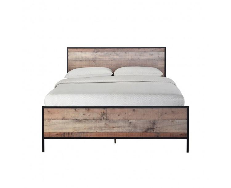 Hoxton 4ft 6 Double Bed Oak Effect