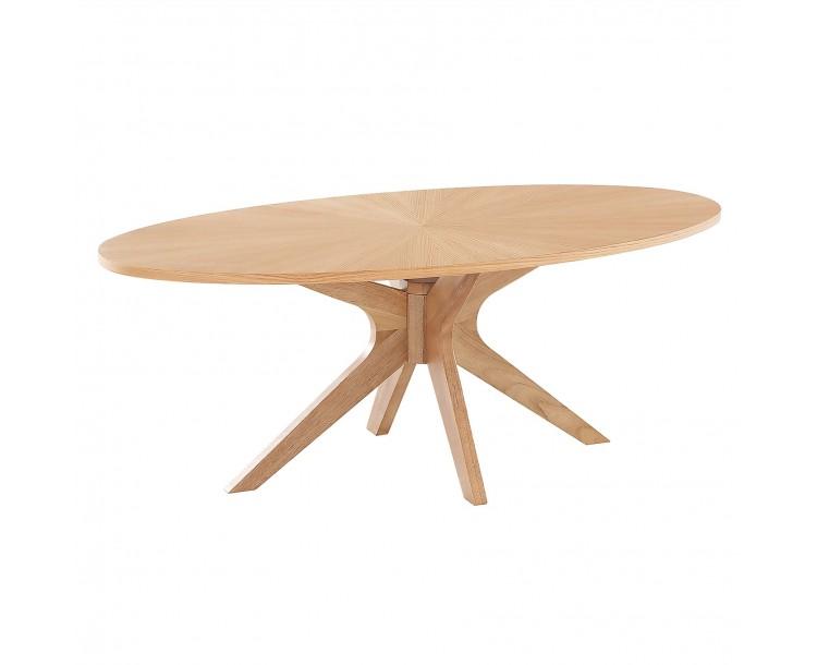 Malmo Contemporary Oak Coffee Table