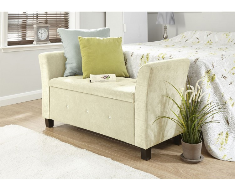 Verona Diamante Window Seat Natural Chenille