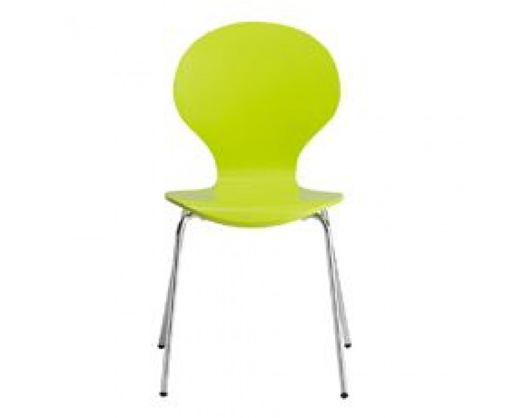 Ibiza Dining Chair Lime Pack of 4