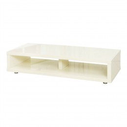 Puro Cream Contemporary High Gloss TV Unit