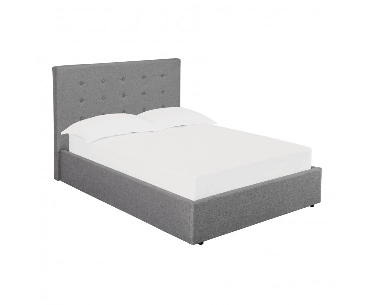 Lucca Plus 5FT Kingsize Bed Grey