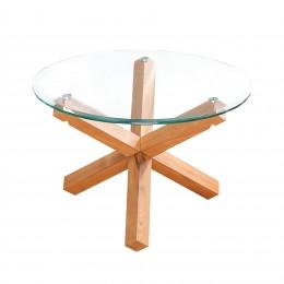 Oporto Unique Glass Top Coffee Table