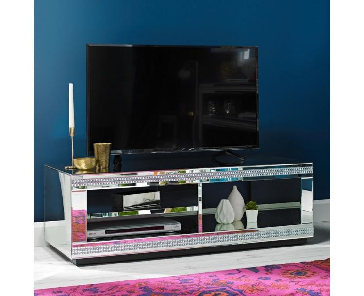Biarritz Mirrored TV Unit