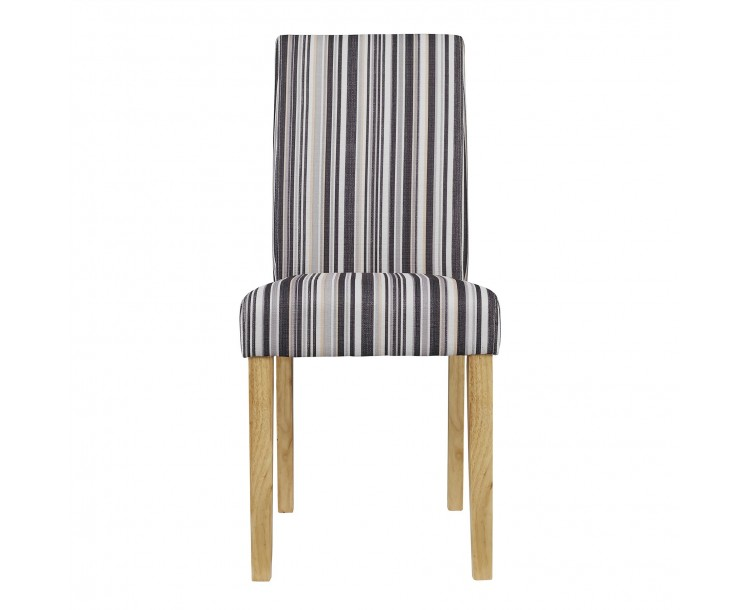 Lorenzo Dining Chair Striped Pack of 2