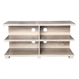 Oslo Oak Entertainment TV Unit Pale Washed