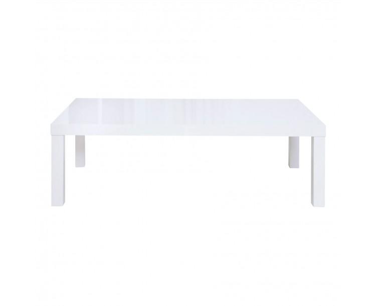 Puro White High Gloss Coffee Table
