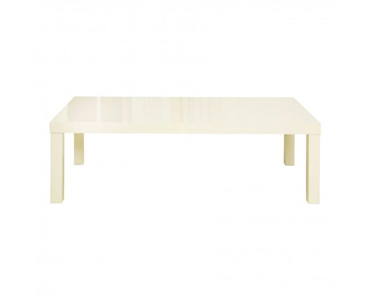 Puro Cream High Gloss Coffee Table