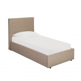 Lucca Beige Linen Type 3FT Single Bed