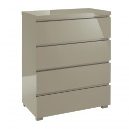 Puro 4 Drawer Chest Stone