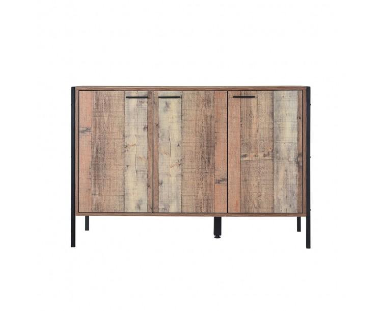 Hoxton Wood Effect Sideboard 3 Door