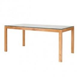 Tribeca Dining Table White Oak