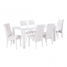 Monroe Puro Large Dining Table White