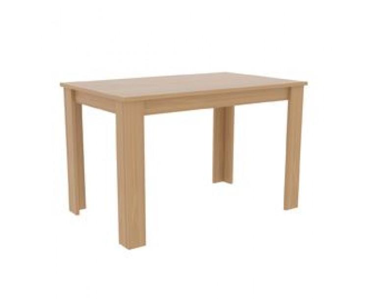 Atlanta Solid Oak Effect Dining Table