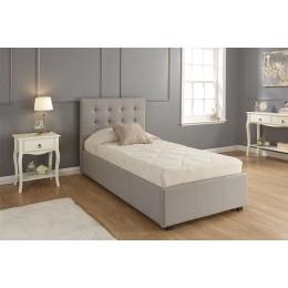 Regal Single 3FT 90cm Bed Ottoman Bedframe Grey