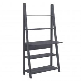 Tiva Ladder Desk Display Unit in Black