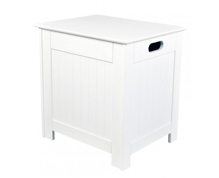 Alaska Laundry Cabinet White