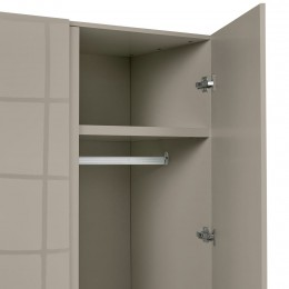 Puro Stone Stylish Modern 2 Door Wardrobe
