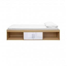 Dakota Cabin Bed Oak-White