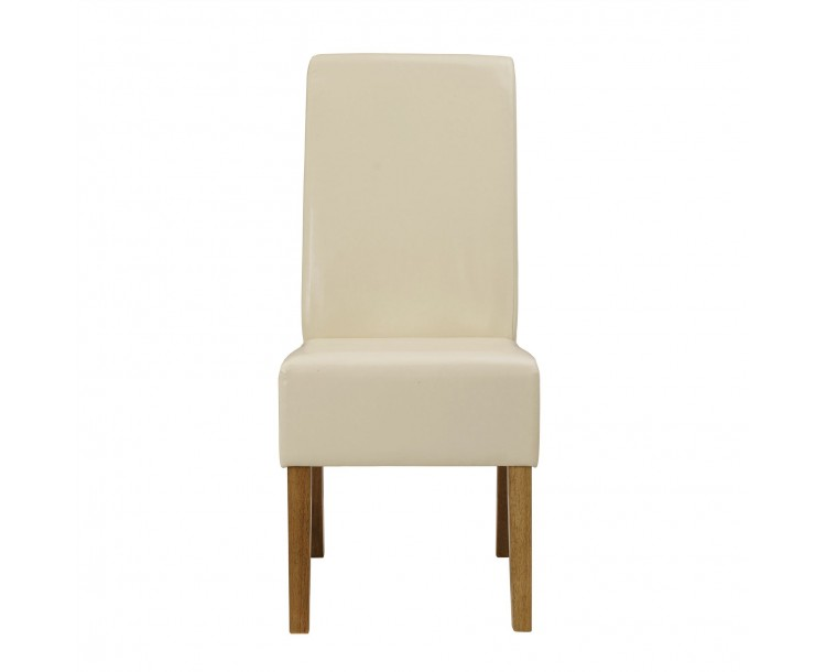 Padstow Chair Cream Pack of 2