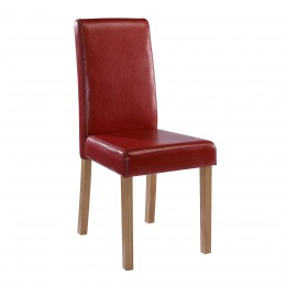 Oakridge Chair Red Pack of 2