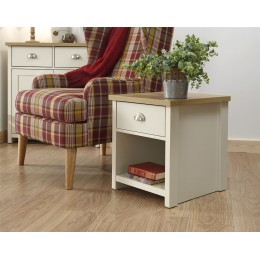 Lancaster Living Room Lamp Table Cream