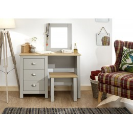 Lancaster Dressing Table Set Bedroom Furniture Grey