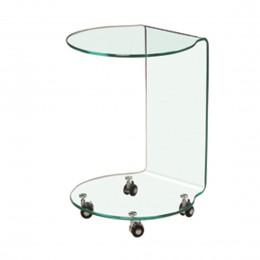 Azurro Lamp Table Glass