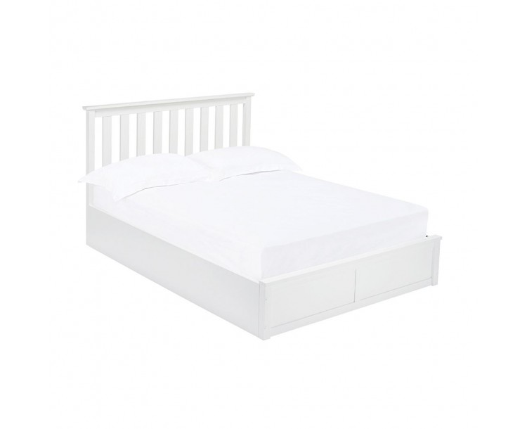 Oxford White Opening Base 5FT Kingsize Bed