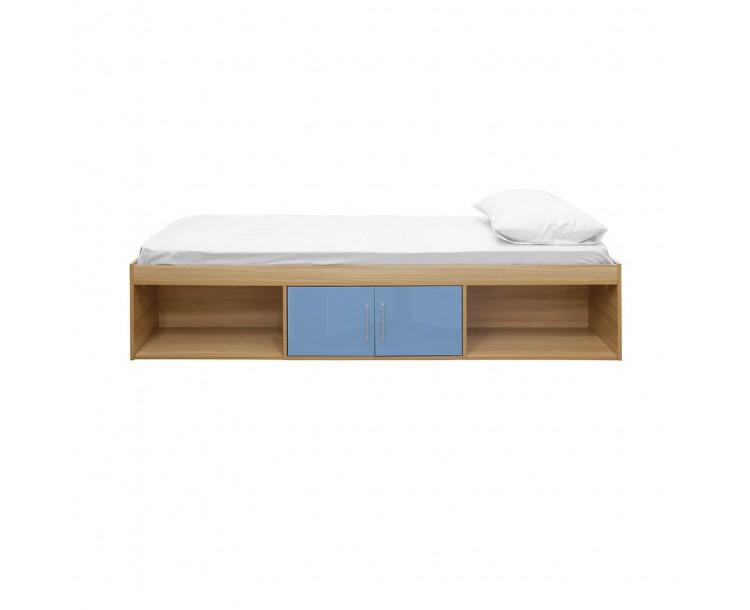 Dakota Cabin Bed Oak-Blue