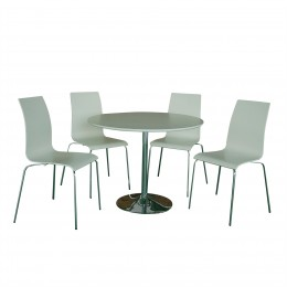 Soho Dining Table in White