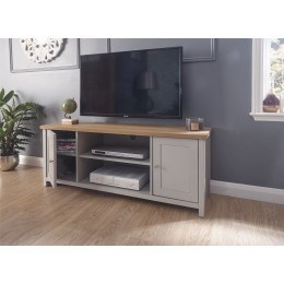 Lancaster Large TV Cabinet Grey