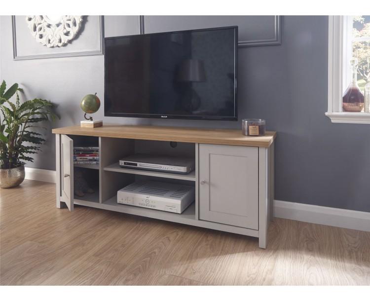 Lancaster Large TV Cabinet Grey