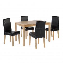 Oakridge Oak Finish Dining Table