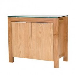 Tribeca Stylish Compact Sideboard White Oak