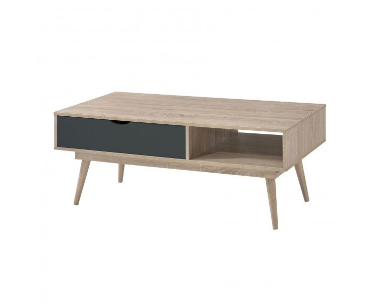 Scandi Compact Grey Coffee Table