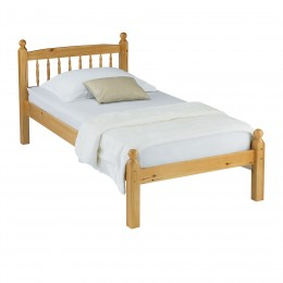 Pamela 3ft Single Bed Pine