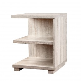 Oslo End Table Pale Washed Oak