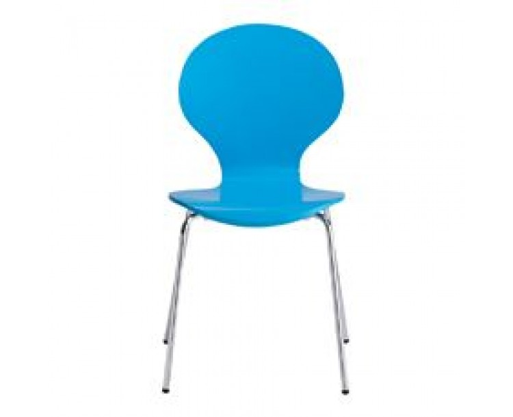 Ibiza Dining Chair Blue Pack of 4