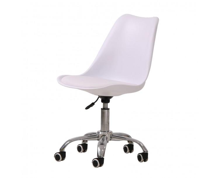 Orsen Swivel Office Chair White
