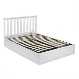 Oxford White 4FT6 Double Bed