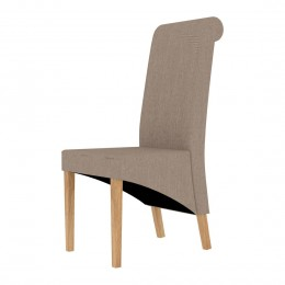 Amelia Dining Chair Beige Pack of 2