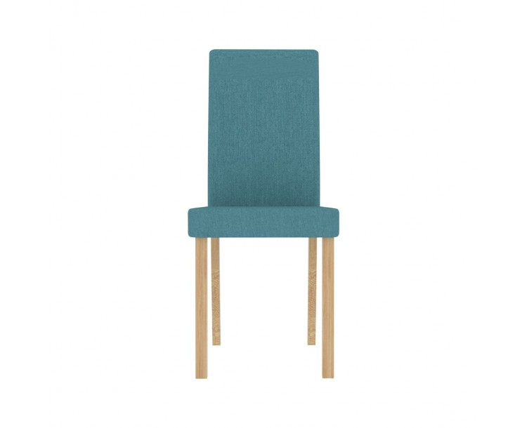 Anna Dining Chair Teal Pack of 2