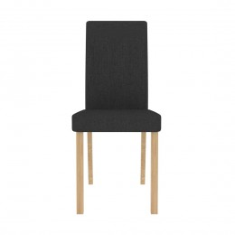 Anna Dining Chair Grey Pack of 2