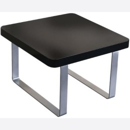 Accent Black Urban Lamp Table