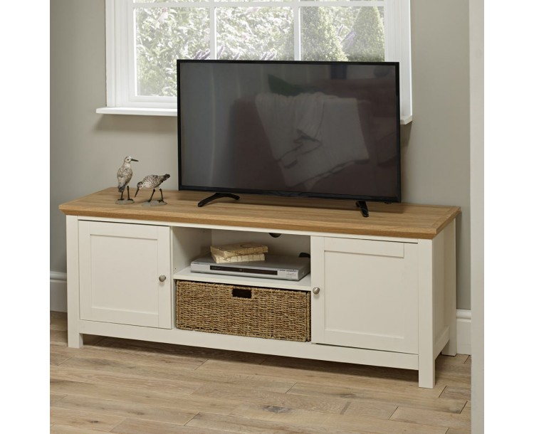 Cotsowold Cream Classy TV Unit Up To 55